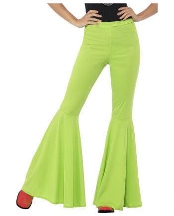 Grüne Damen Schlaghose