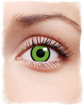 Comic contact lenses Green