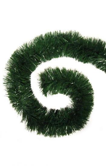 Grüne Fransengirlande  10 cm x 3 m