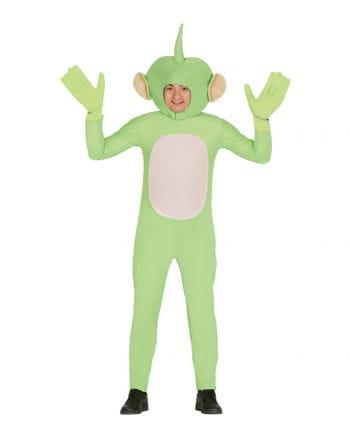 Grüner Außerirdischer Kostüm