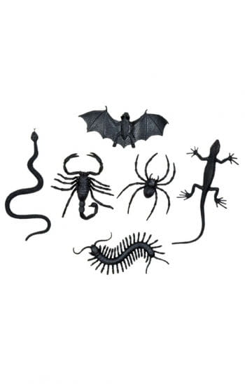Creepy critters 6 Pack