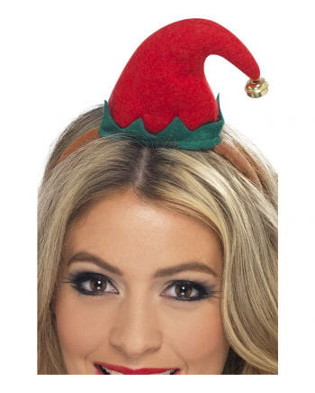 Headband with Mini Elf hat