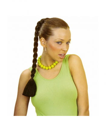 Hairpiece brown plait