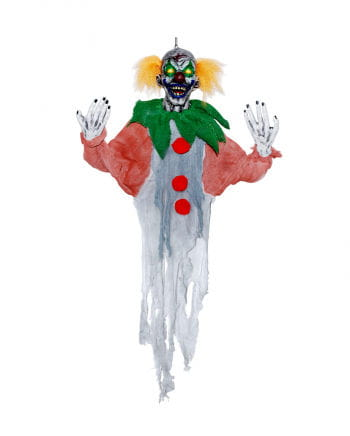 Hanging Clown with LED Eyes