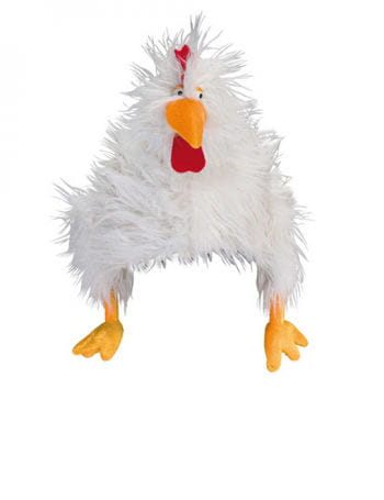 Rooster Hat white