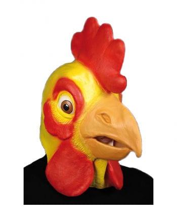 Cocks mask yellow