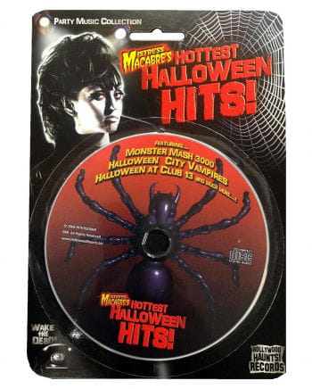 Halloween CD Mistress Macabres Hottest Halloween HitsDance Party