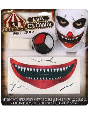 Killer Clown Schmink Set