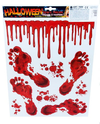 Halloween film bloody feet