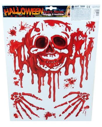 Halloween film bloody skull