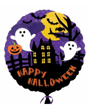 Haunted House foil balloon