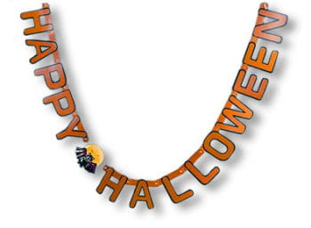 Happy Halloween Girlande