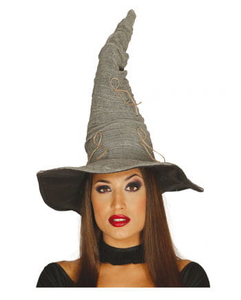 Halloween witch hat gray