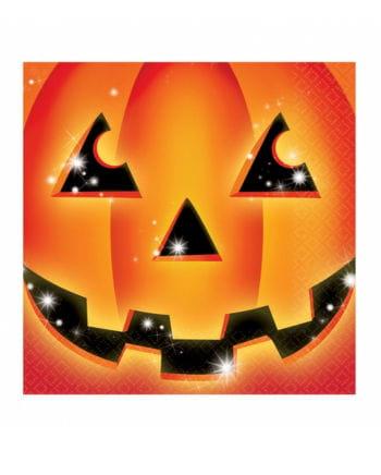 Halloween Pumpkin Napkins 16 pc