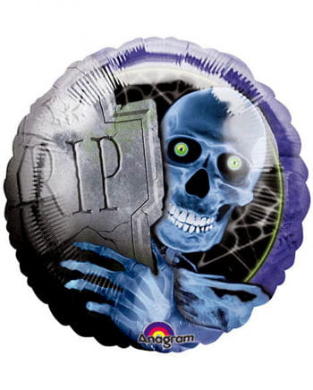 Folien Ballon Creepy Bones
