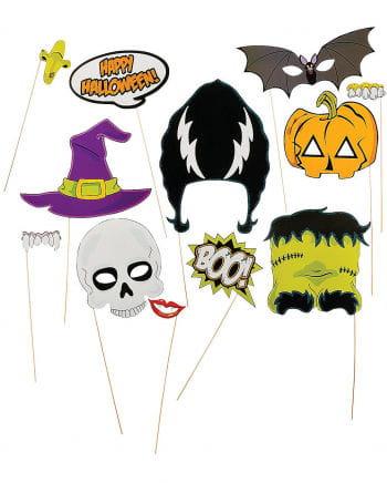 Fotobox Accessoires für Halloween