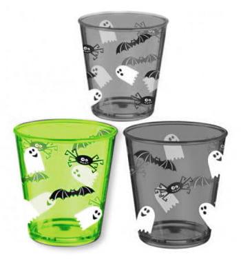 Halloween Plastic Cup Green