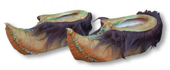 Goblin Schuhe Braun grün