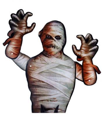 Halloween table decoration mummy