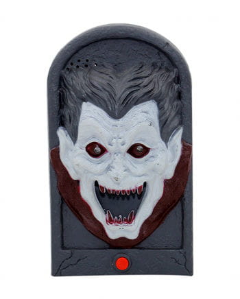 Halloween-Türglocke Vampir mit Light & Sound