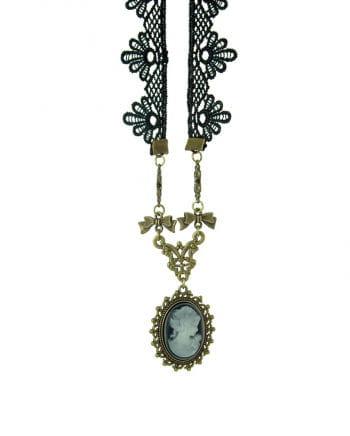 Halskette Kameliendame
