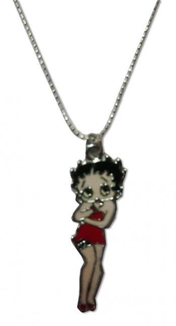 Halskette mit Anhänger Betty Boop Ganzkörper