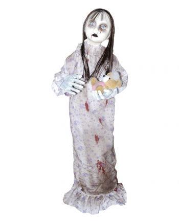Horror-Puppe mit Plüschbär