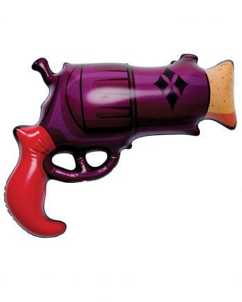 Aufblasbarer Harley Quinn Revolver
