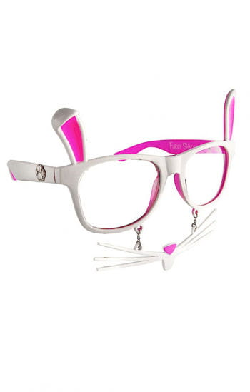 Hasen glasses with whiskers