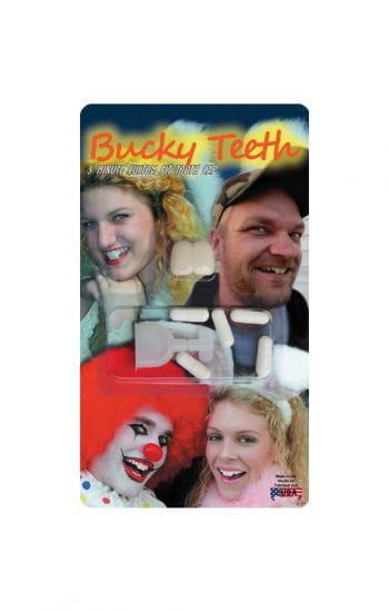 Buck teeth white