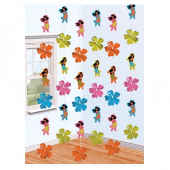 Hawaii Girls Hanging Decoration
