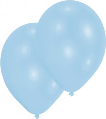 Hellblaue Premium Luftballons