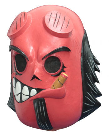 Hell Boy comic mask