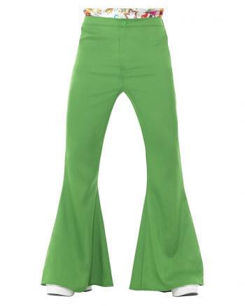 Grüne Herren Schlaghose