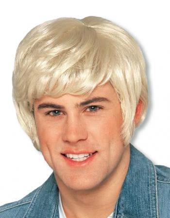 Blonde Herrenperücke Knut Deluxe