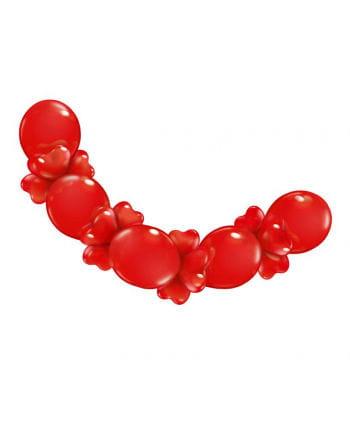 Herzluftballons Garland