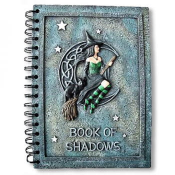 "Witches Notebook ""Book of Shadows"""