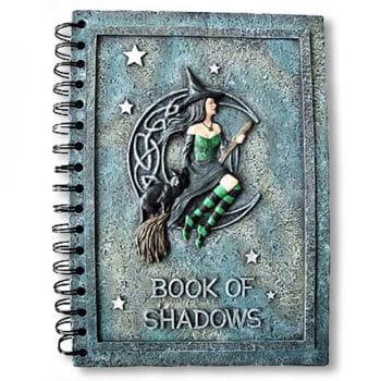 """""""Book of Shadows"""" Notizbuch"""