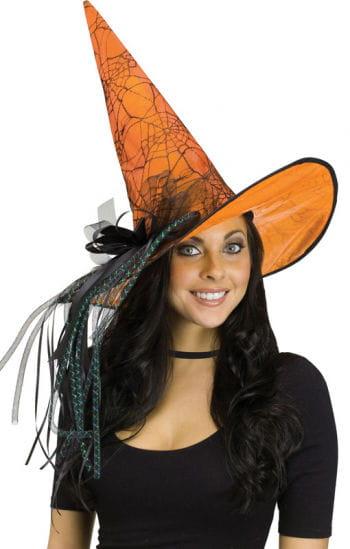 Glitter Witch Hat Orange