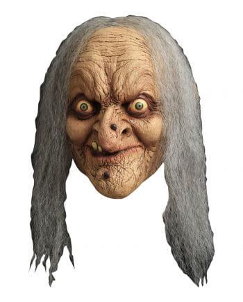 Hexenmaske Wanda mit Warzen