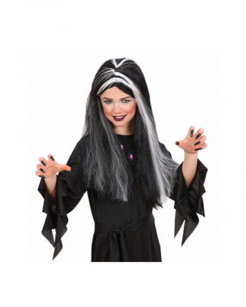 Witch wig for children with glowing strands