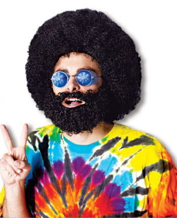 Hippie Afro Wig and Beard