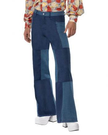 Hippie pants in jeans look