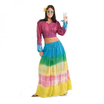 Hippie Regenbogen Rock