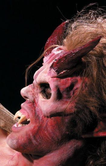 rote Höllen Hörner
