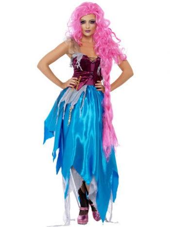 Verführerisches Aqua Girl Kostüm