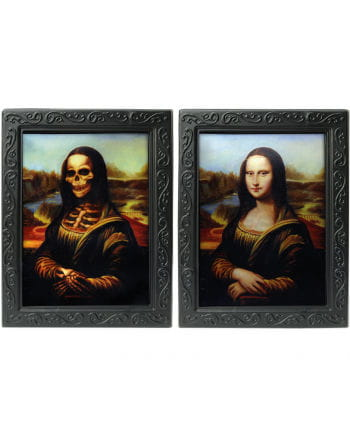 "Hologram portrait ""Mona Lisa"""