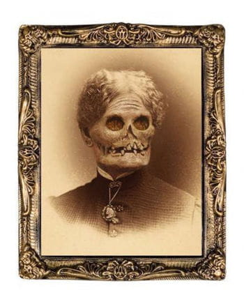 Hologram Portrait Zombie grandmother 38 x 51 cm