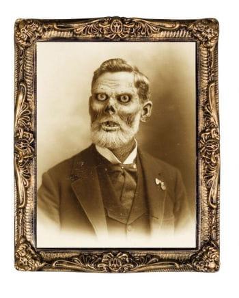 Hologram Portrait Zombie grandfather 38 x 51 cm