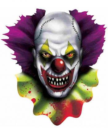 Fieser Clown Dekoration